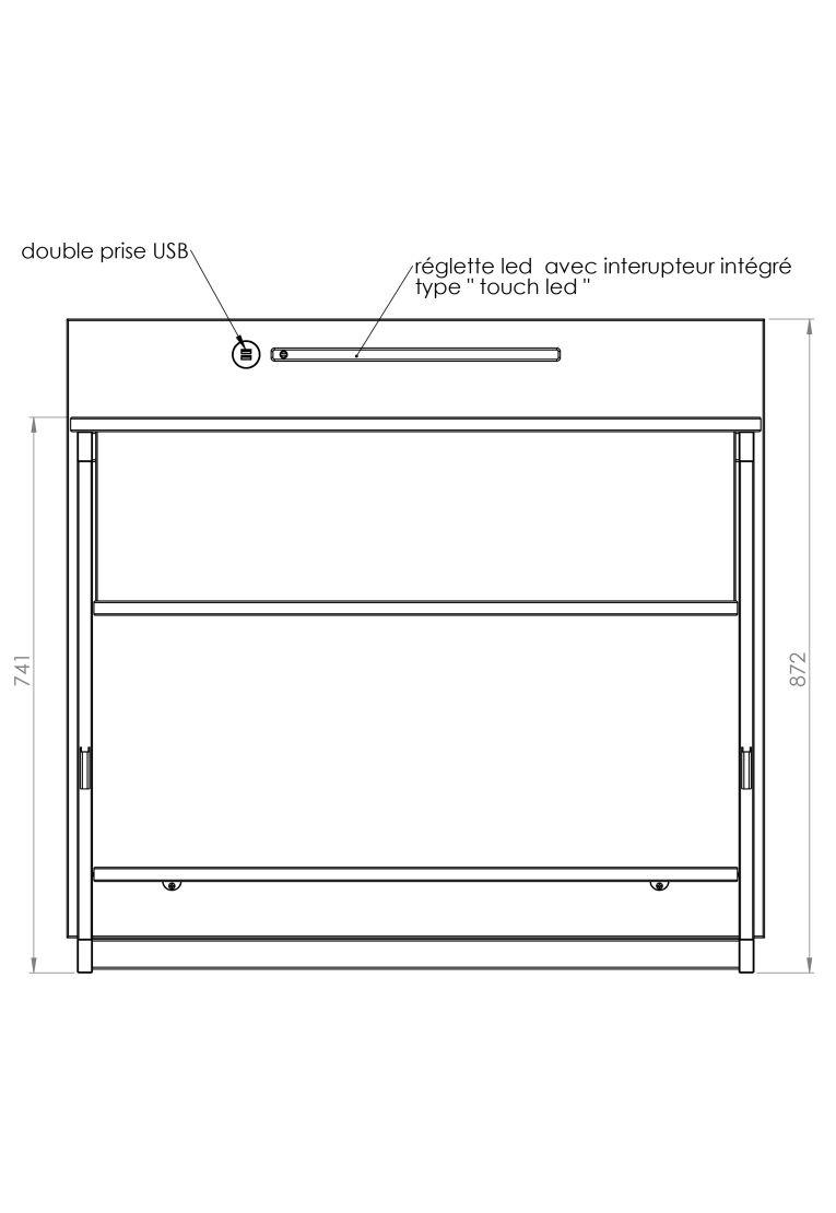rangement bas tete de lit yun. Black Bedroom Furniture Sets. Home Design Ideas