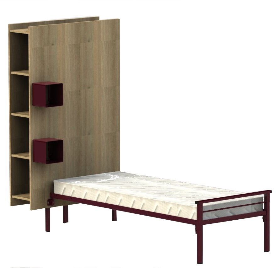 lit tete armoire yun hebregement collectif rodet. Black Bedroom Furniture Sets. Home Design Ideas