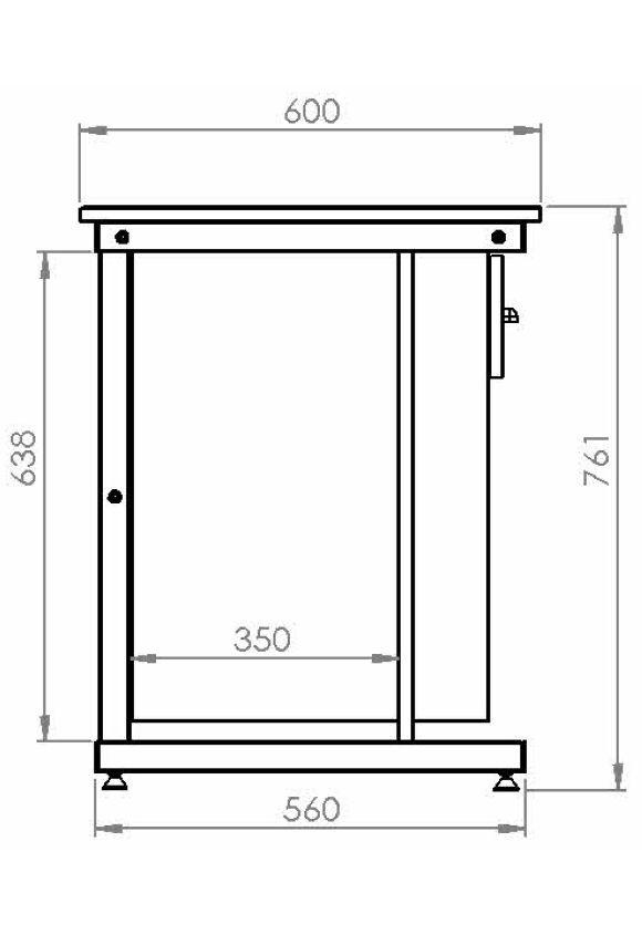 bureau yun tiroir niche hebergement collectif rodet. Black Bedroom Furniture Sets. Home Design Ideas