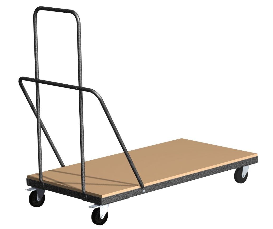 chariot de transport pour tables pliantes rodet. Black Bedroom Furniture Sets. Home Design Ideas